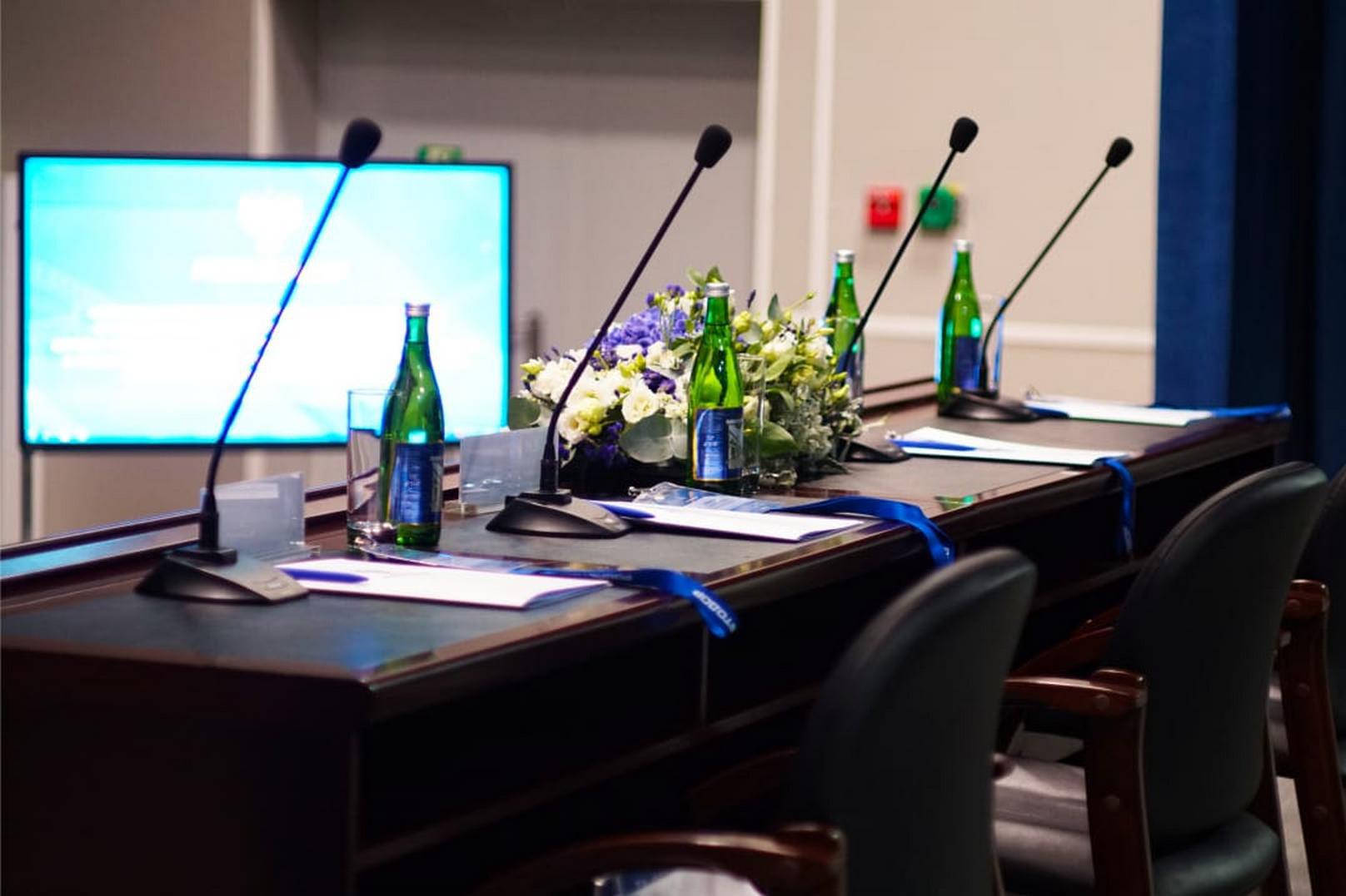 Организация конференций на высоком уровне